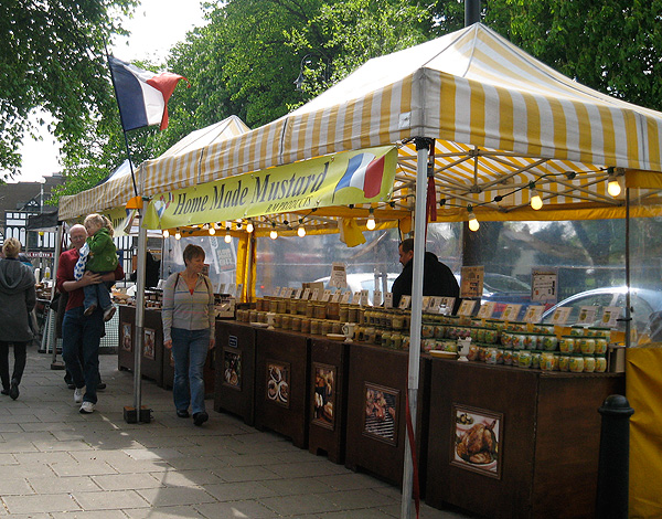 Mustard-stall